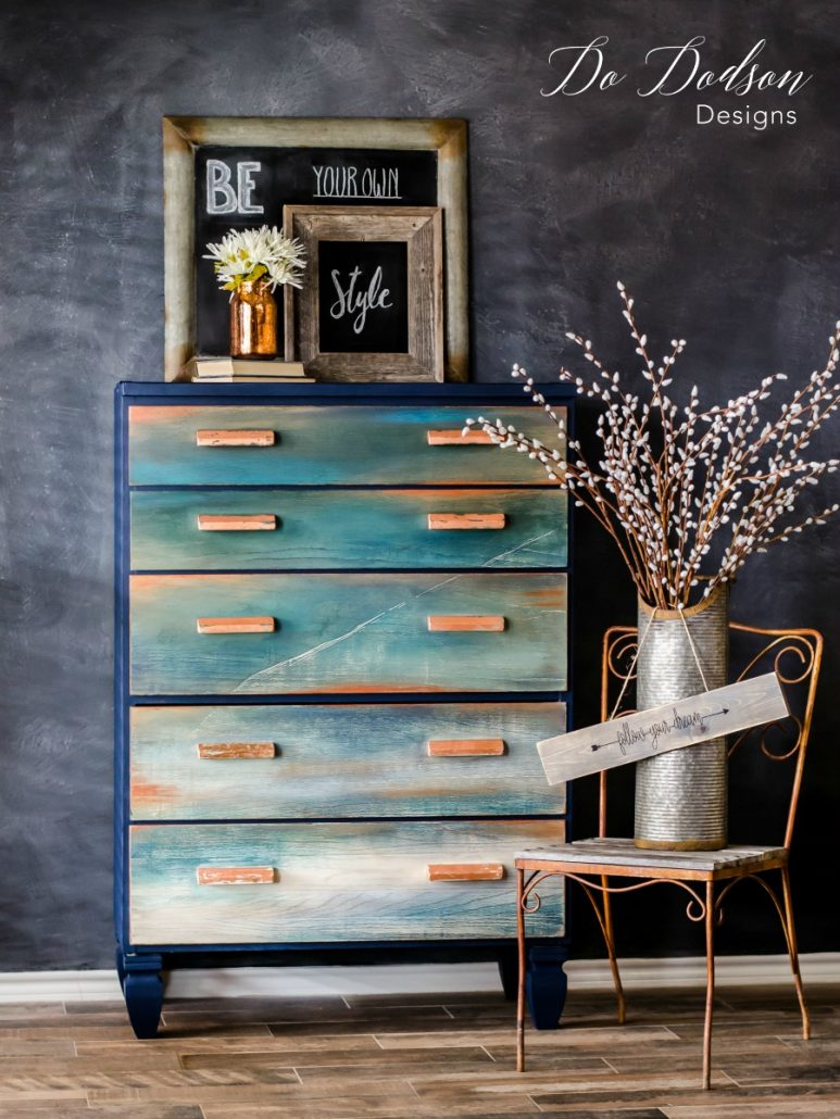 copper metal leaf furniture inspiration