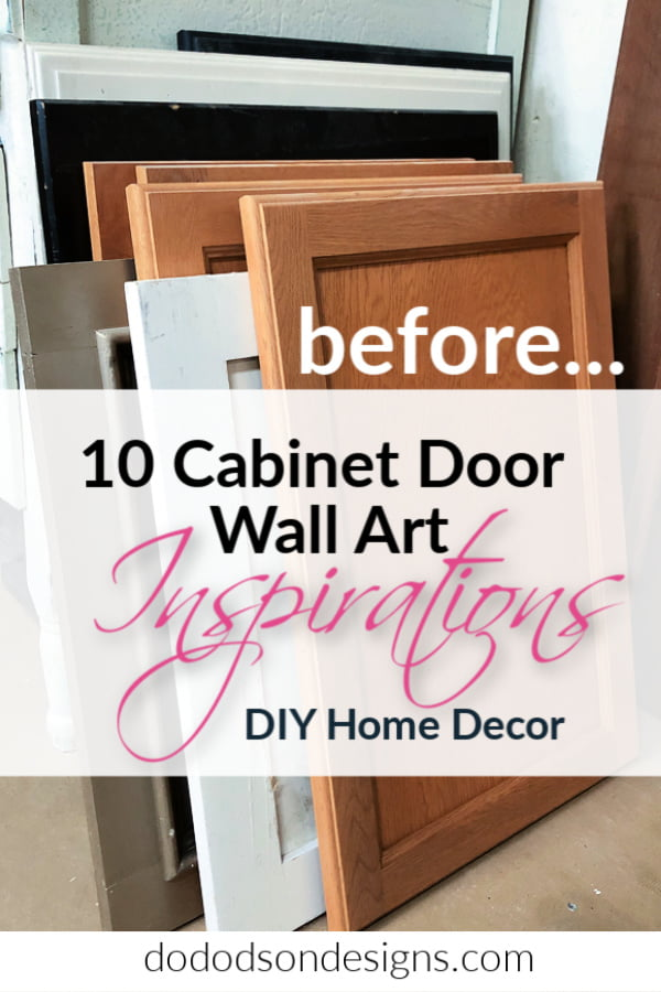 10 ways to up-cycle cabinet doors.