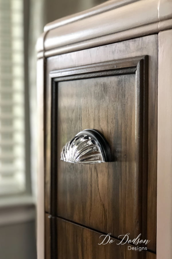 The right hardware makes all the difference with finishes on painted and stained furniture.