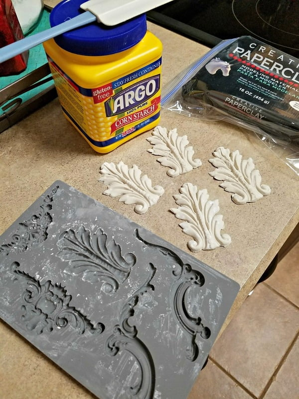 These are so cool! I'm adding these decorative mouldings to my roadside find table.