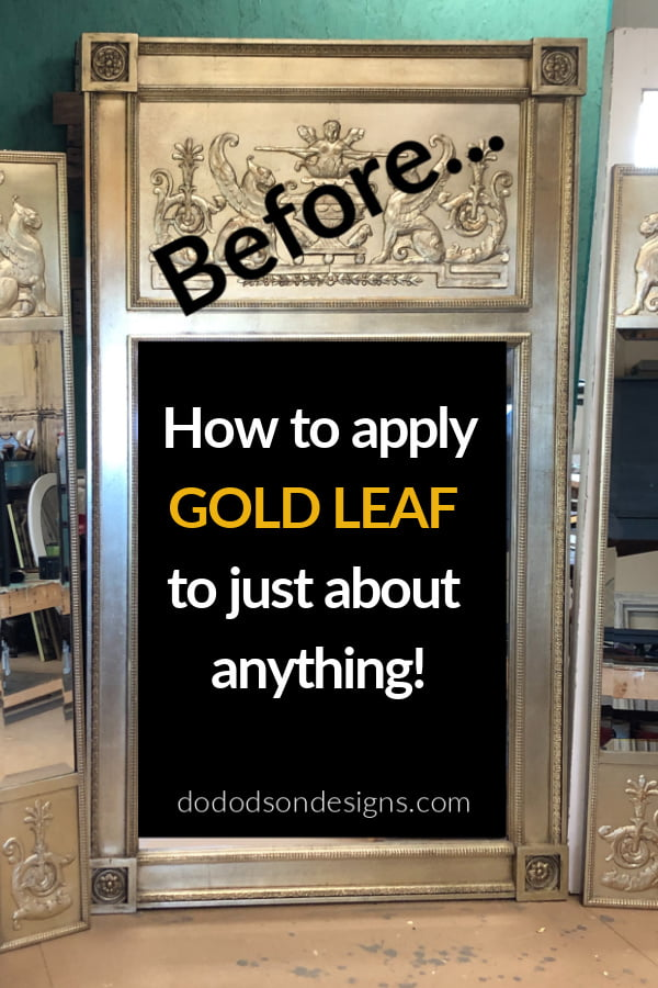 How To Apply Gold Leaf To Almost... Anything!