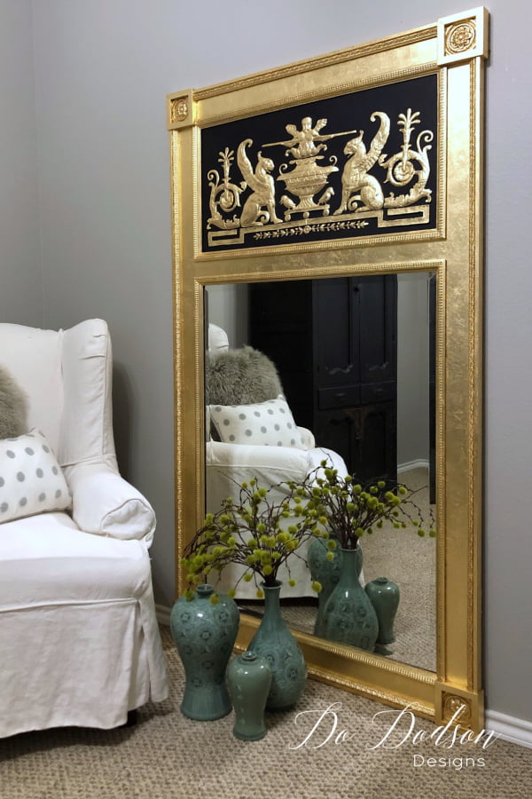The look of gold leaf is like no other faux finish. Luxurious, BOLD and out spoken for the designers that dare to break all the rules.