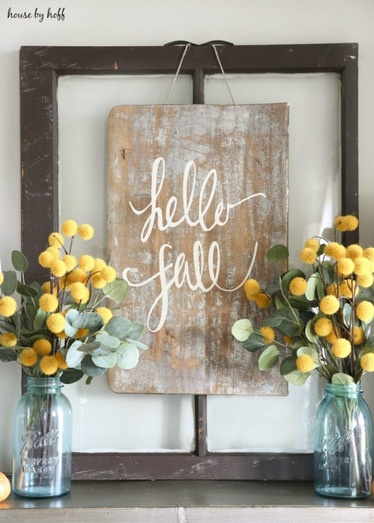 DIY Sign For Fall