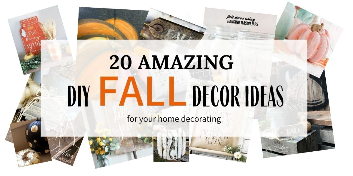 20 Amazing DIY Fall Decor Ideas For Your Home