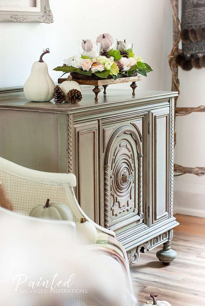 Fall Style Furniture Makeover | Before & After