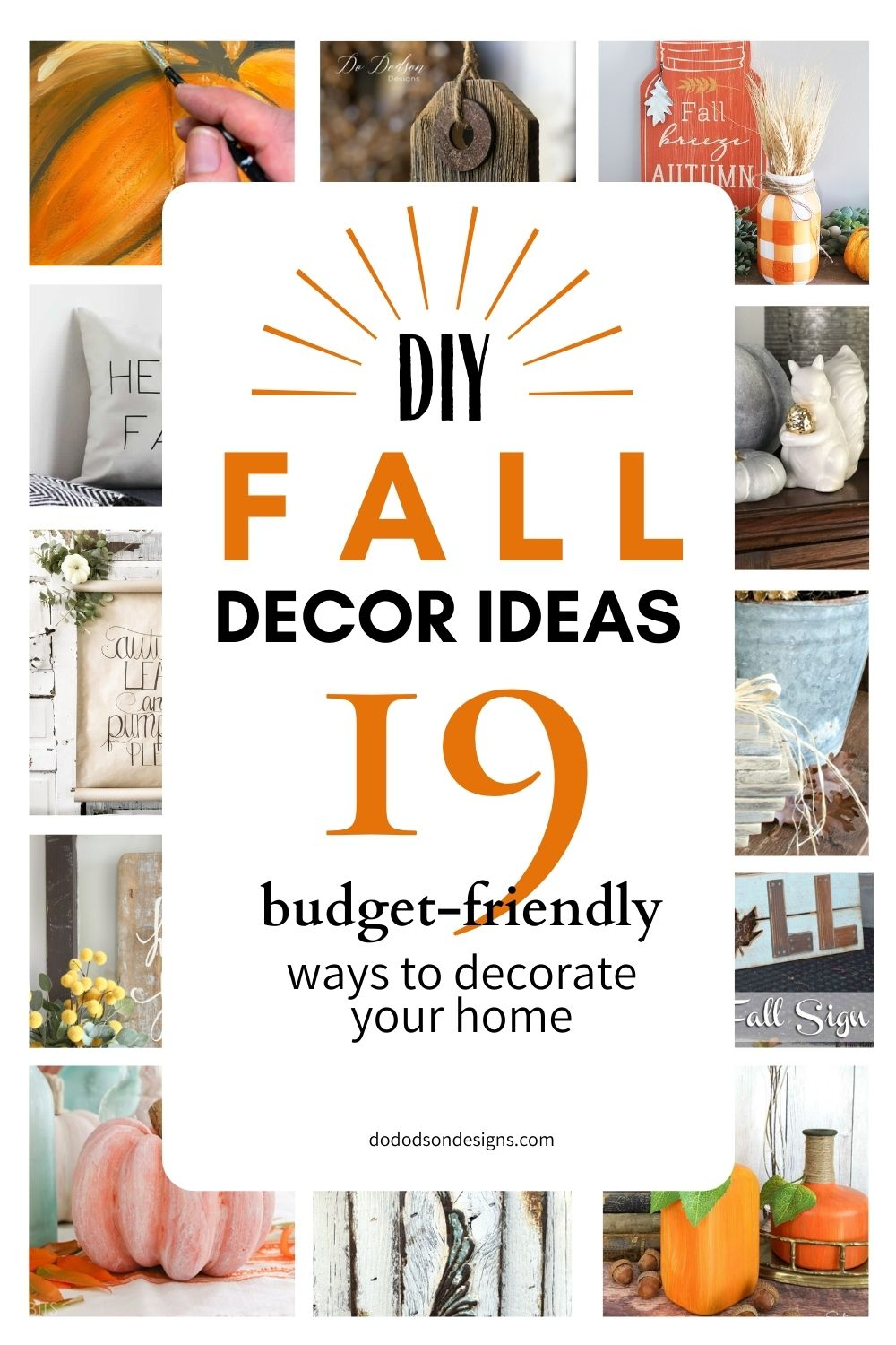 19 Amazing DIY Fall Decor Ideas For Your Home