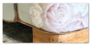 Try this easy rub-on method with Hokus Pokus furniture transfers. Rub, rub, rub, and then rub some more. The perfect compliment your painted furniture.