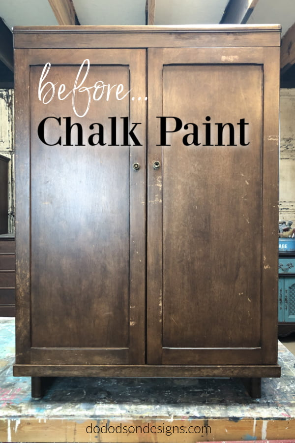 Before chalk paint... first time using.