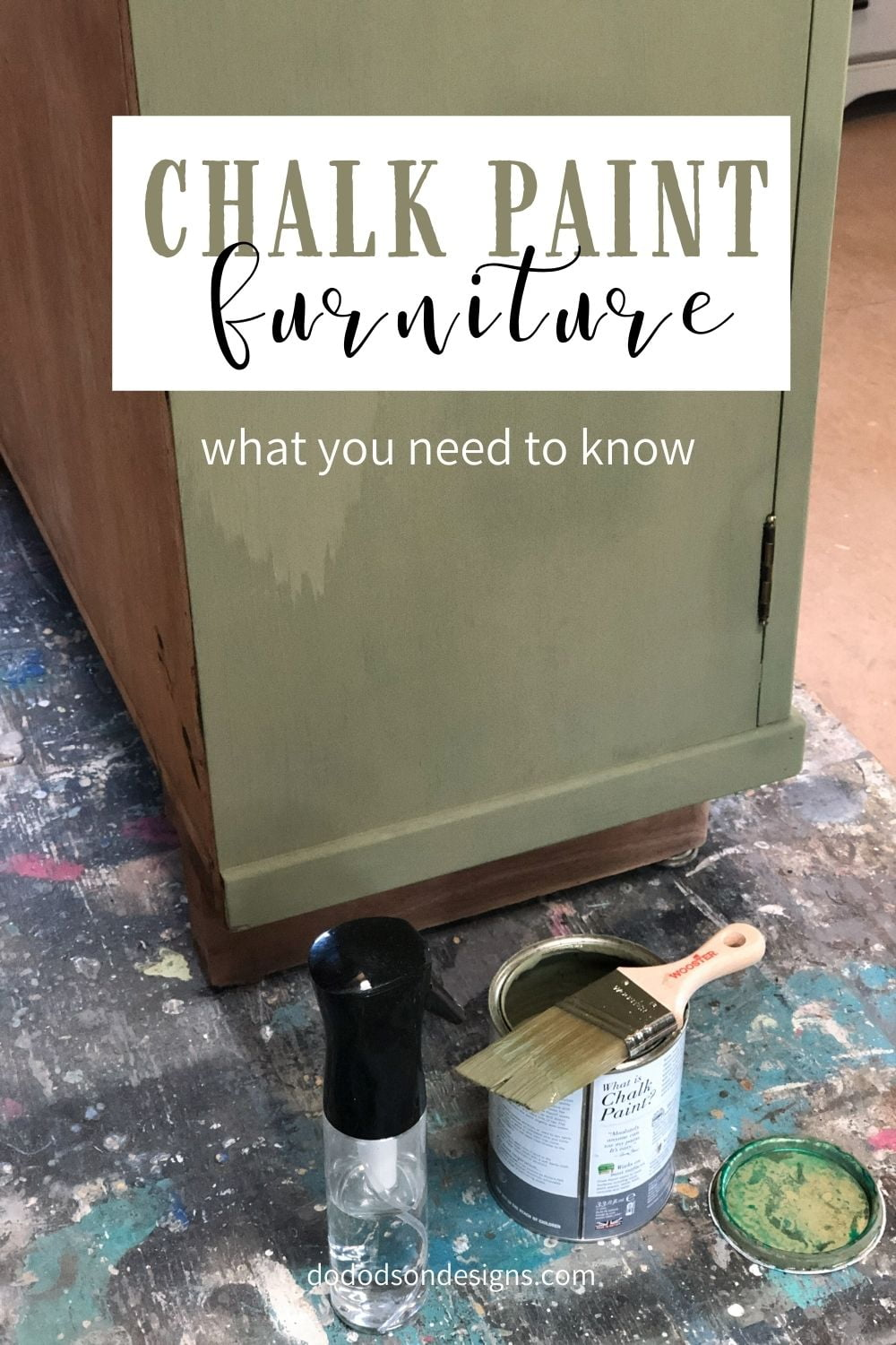 Chalk Paint & Furniture...Lessons Learned