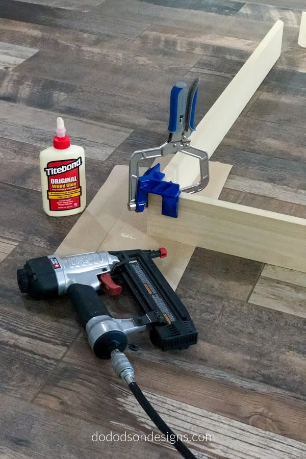 I'm all about some cool tools and these 90 degree corner clamps worked perfectly when building this frame.