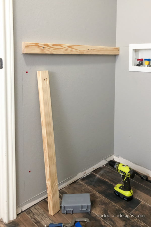 In the beginning there was a small laundry room with no storage. Come see how we added storage, character and functionality to this space. DIY Laundry room makeover 2020.