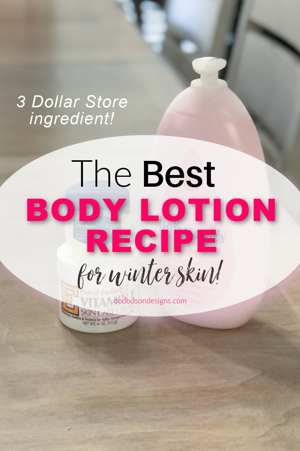 The BEST Body Lotion Recipe For Winter Skin