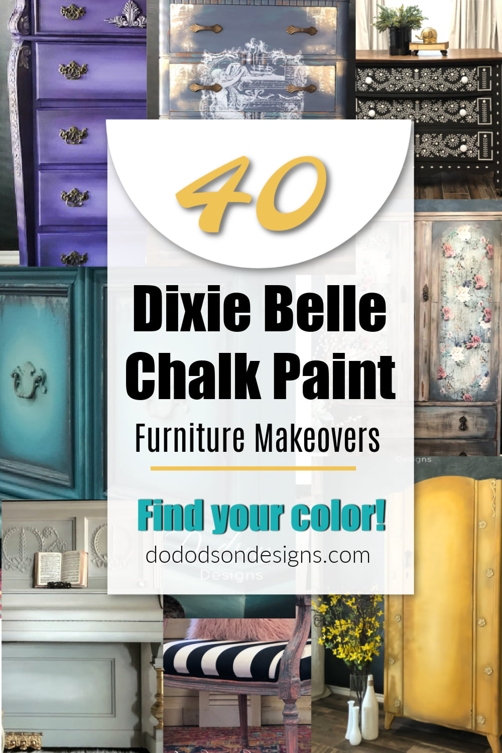 My Top 40 Dixie Belle Chalk Paint Furniture Makeovers