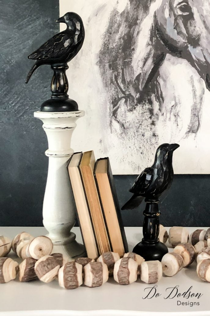 When in a pinch for something to decorate your home with, grab three books and lean them up against a heavy item. Never be afraid to try different patterns and directions when decorating with books. Sometimes it the most unusual items that go well together.