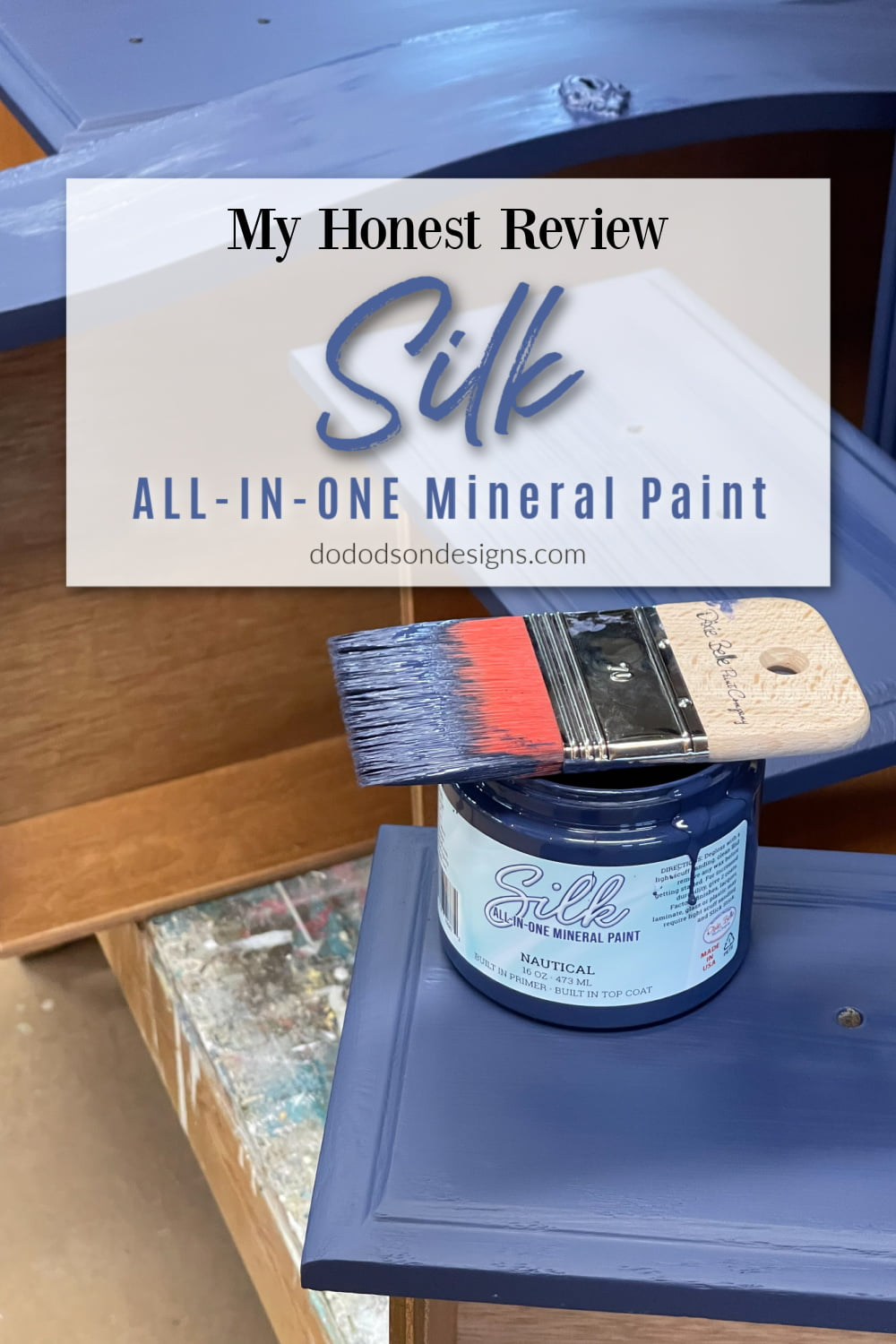 Silk All-In-One Mineral Paint... My Honest Review
