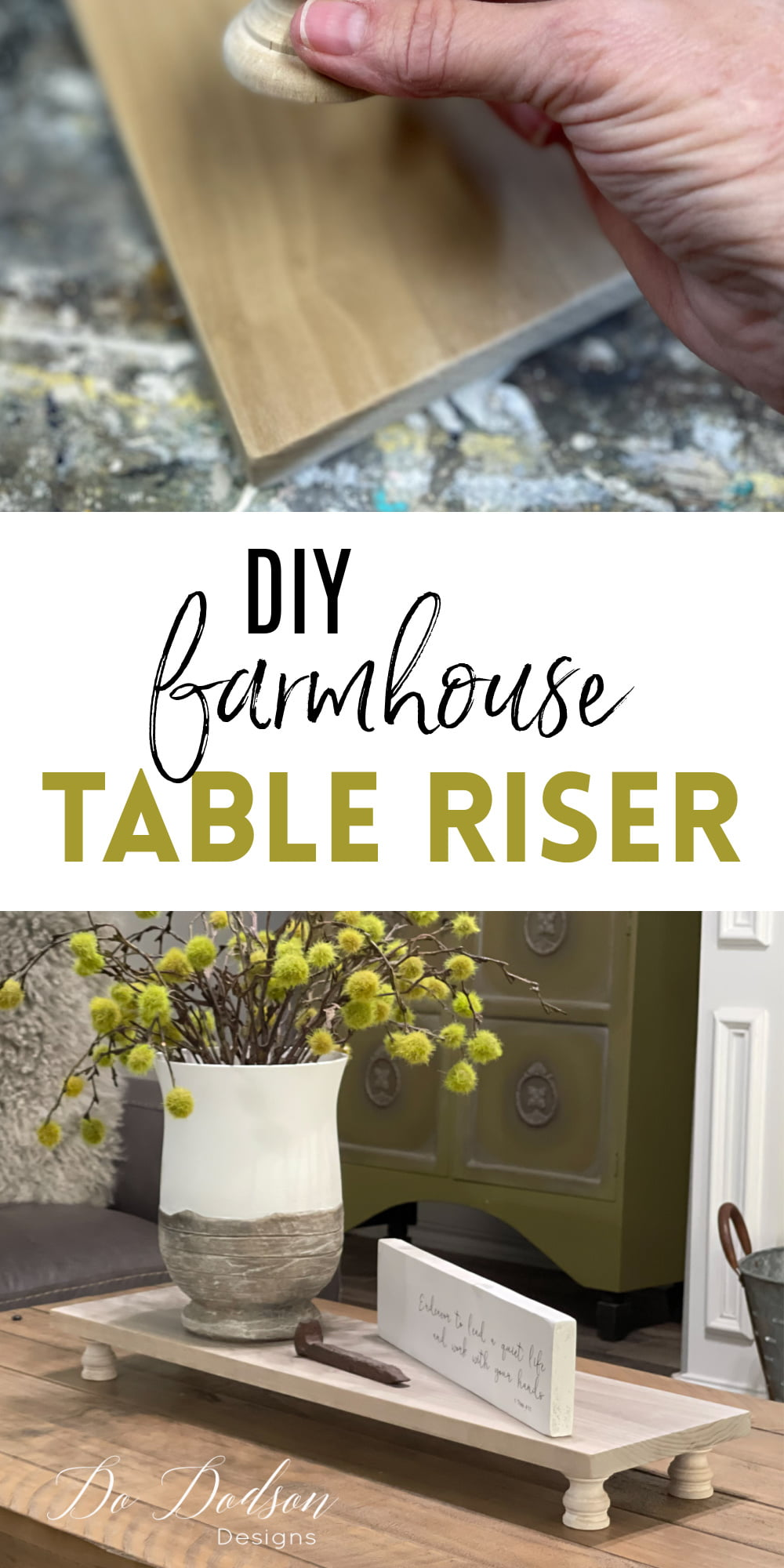 How To Make Table Risers Out Of Scrap Wood