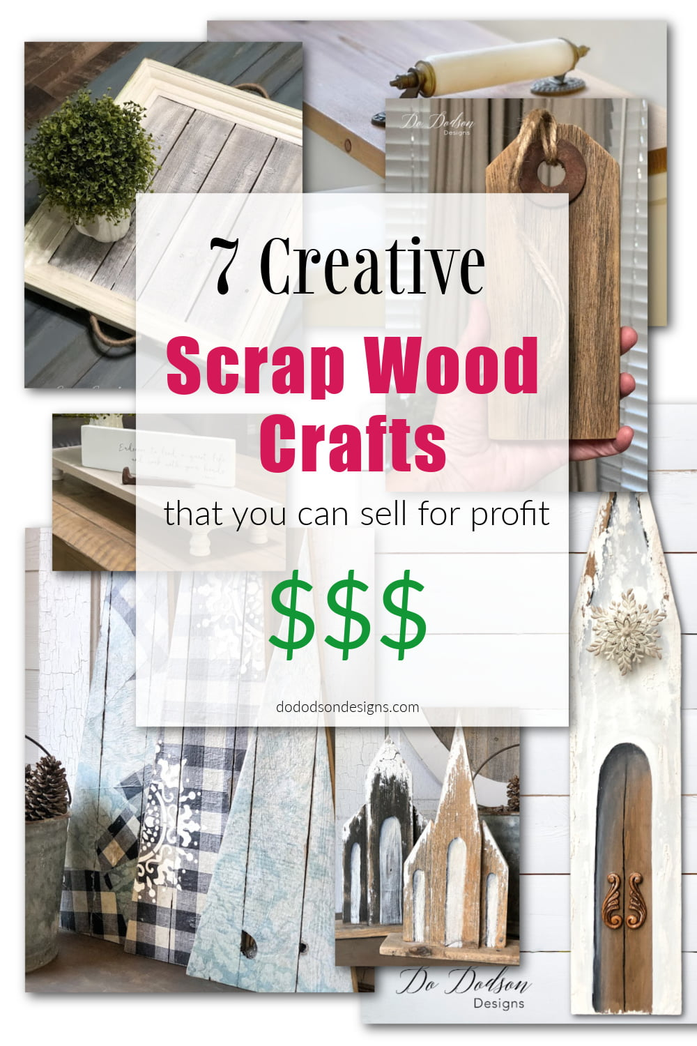 7 Creative Handmade Scrap Wood Crafts That Will Sell Quick