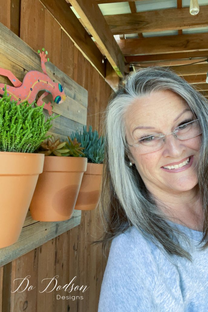 How To Create A Living Wall With Clay Pots
