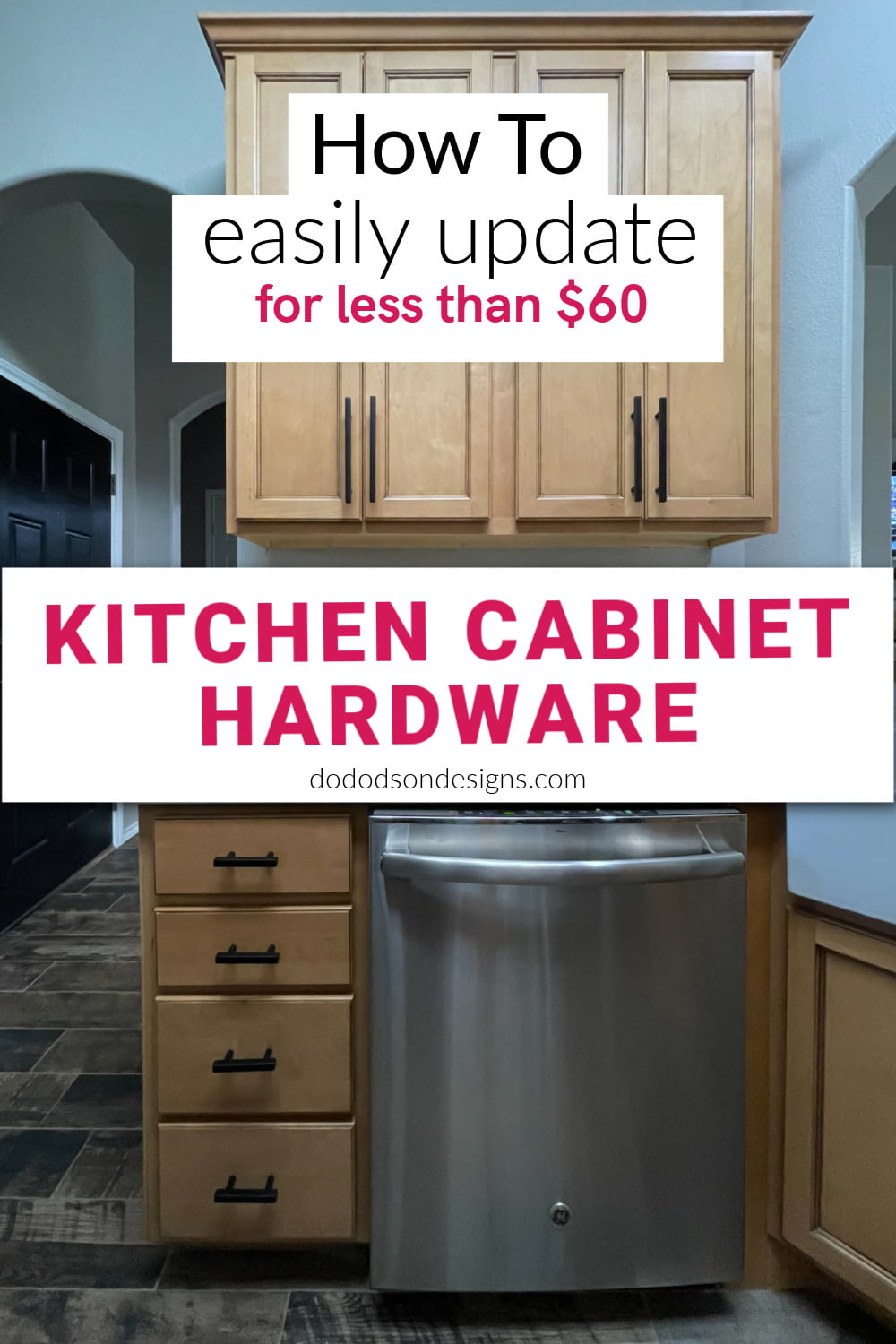 Kitchen Cabinet Hardware - How To Easily Update For Less Than $60