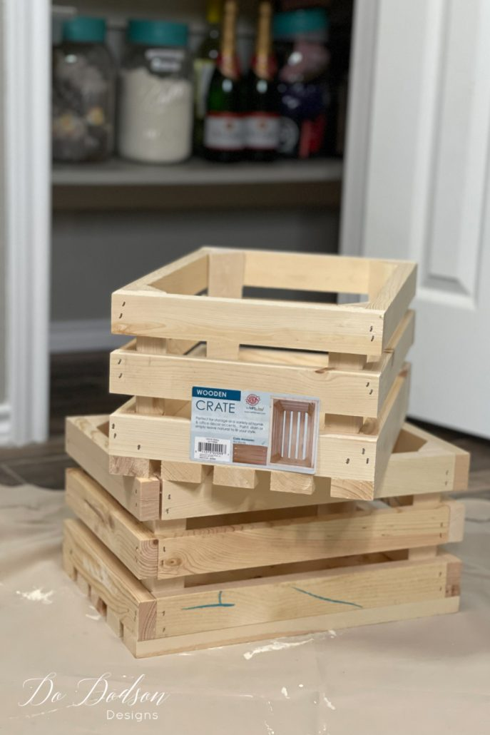 How To Make A Simple Rolling Wood Crate For Your Pantry Floor
