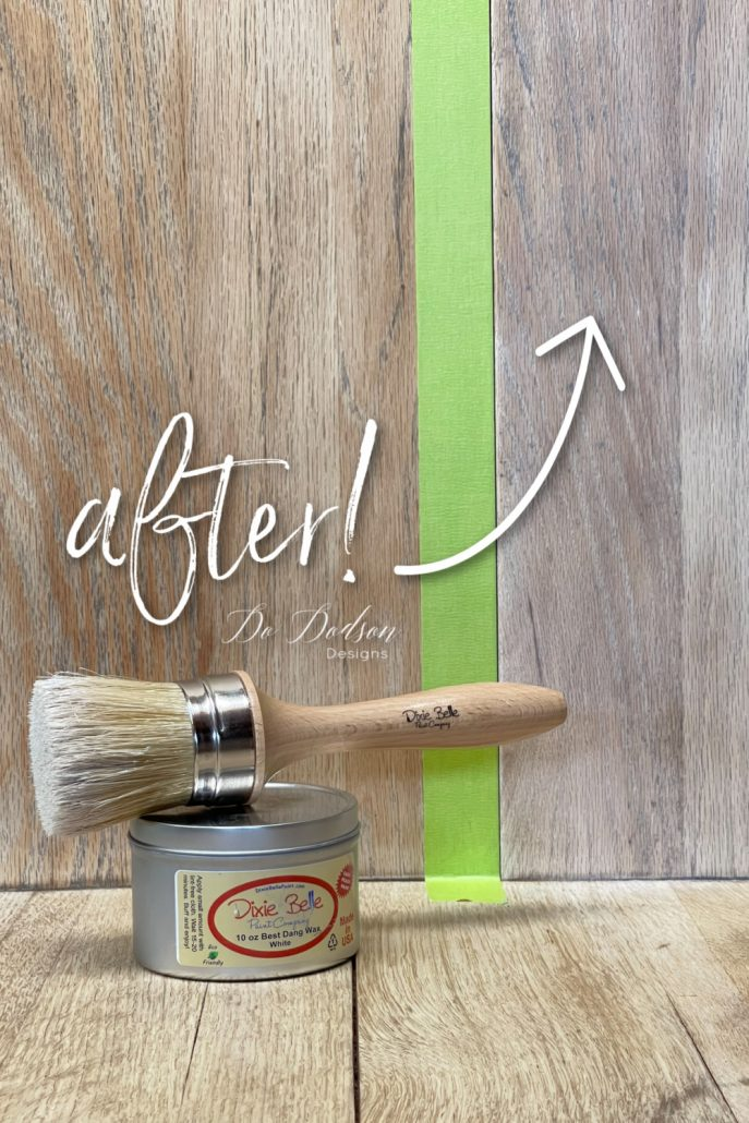 Topcoats will always darken a bleached wood finish. I use white wax instead and the results are amazing! Check out the before and after on my blog at dododsondesigns.com