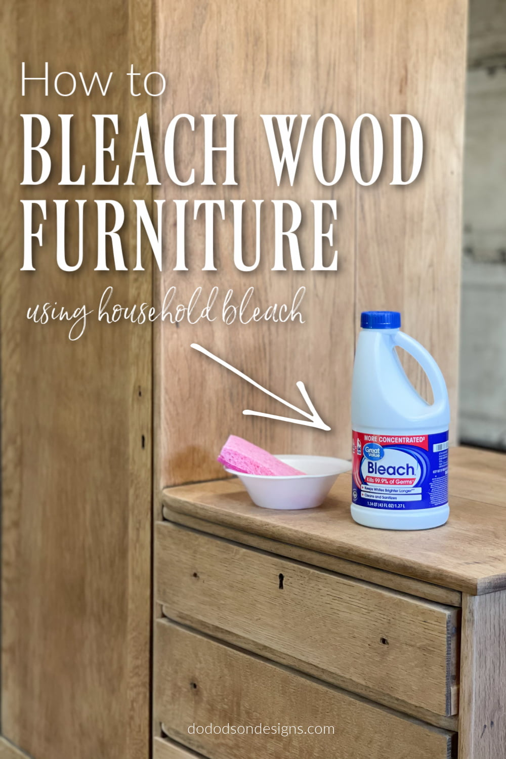 The Cheapest Way To Bleach Wood Furniture