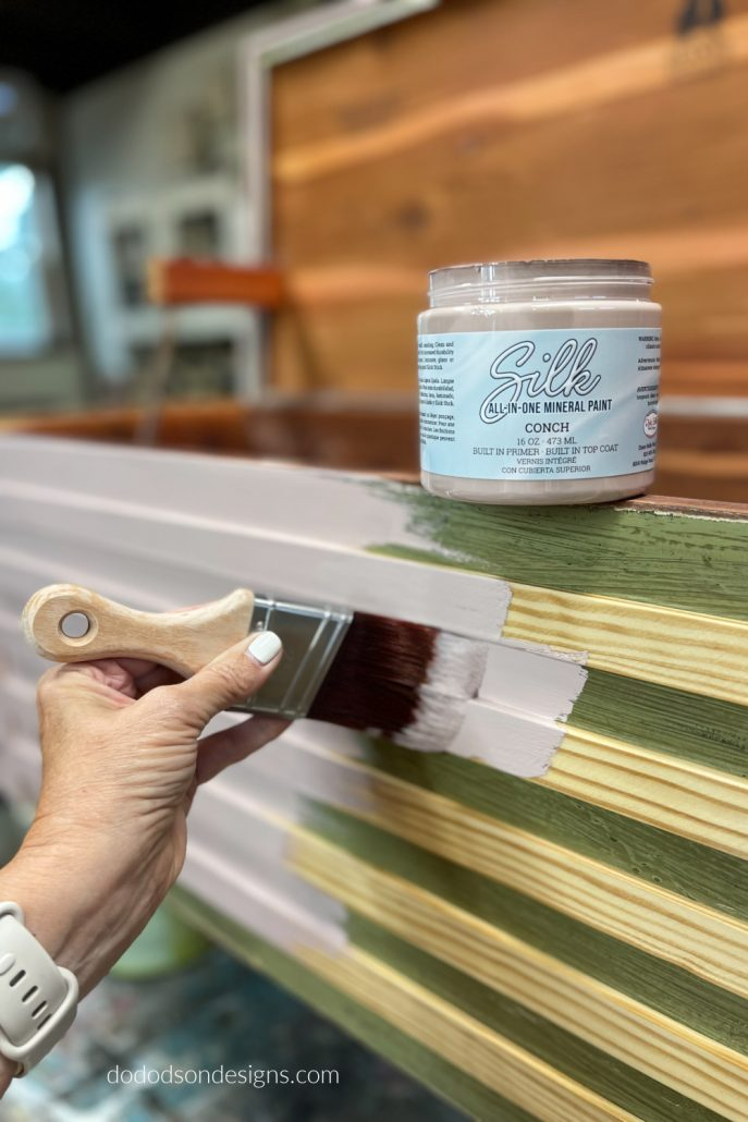 I decided on a beautiful pink color of paint for my cedar chest makeover. The results are stunning!