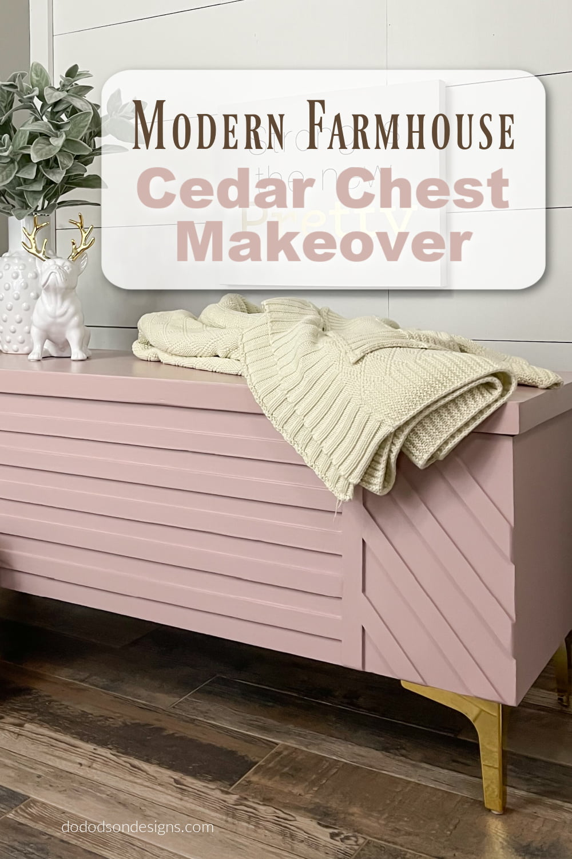Try This Creative Idea On Your Next DIY Cedar Chest Makeover