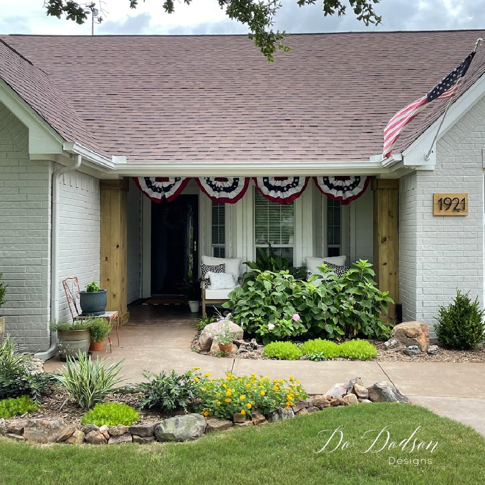 How To: DIY Wood Wrapped Columns - Front Porch Update