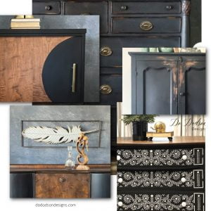 5 Trendy Black Painted Furniture Ideas To Inspire Your Next DIY Makeover