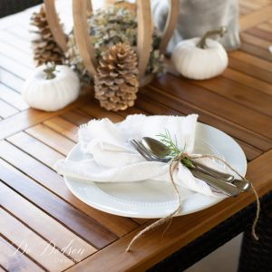 DIY Drop Cloth Napkins You'll Want To Use Everyday