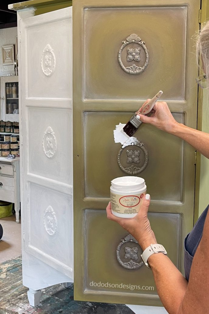 Yes, you can paint over chalk-painted furniture, but before you do, you'll need to know one thing. Has it been waxed or not?