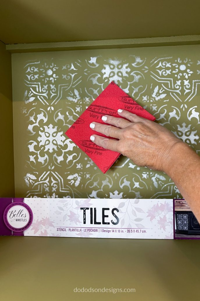 The New Belles And Whistles Tile Stencil