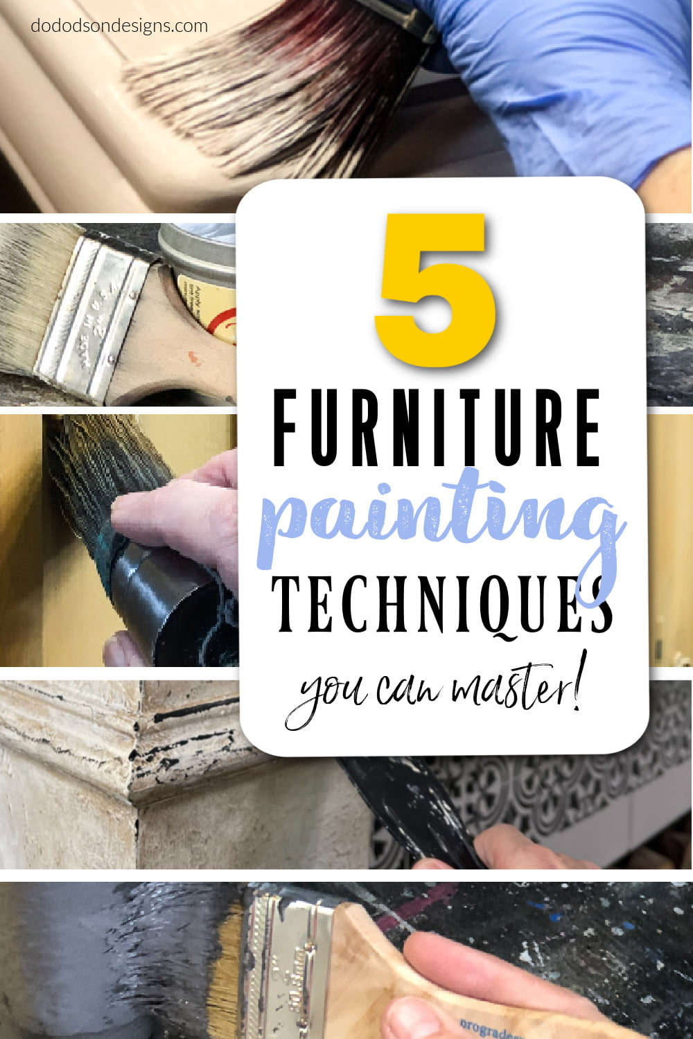 5 Furniture Painting Techniques You Can Master